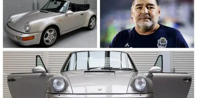 بيع سيارة مارادونا بمزاد في فرنسا بسعر خيالي