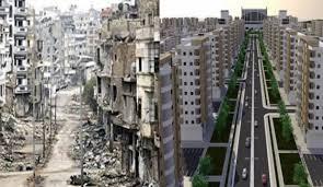 روسيا تبدأ مشاريع إعادة إعمار في سوريا