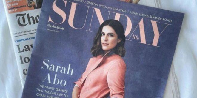 سارة عبو: من دمشق إلى أضواء ملبورن.. سورية تصدرت الصحف الأسترالية