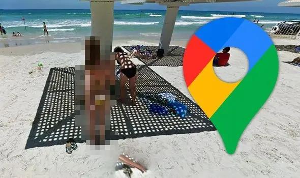 صورة محرجة لفتاة على خرائط غوغل