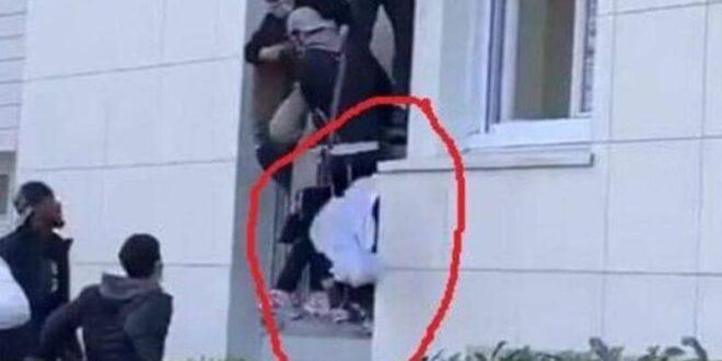 فيديو يحبس الأنفاس.. طفل ينجو من الموت مرتين في نفس اللحظة