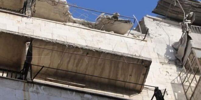 قذائف على حلب تسفر عن شهيدين و17 مصاباً