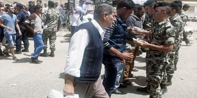 """قرار بتسوية أوضاع السوريين في لبنان """"باستثناء من بحقهم تدابير عدلية"""""""