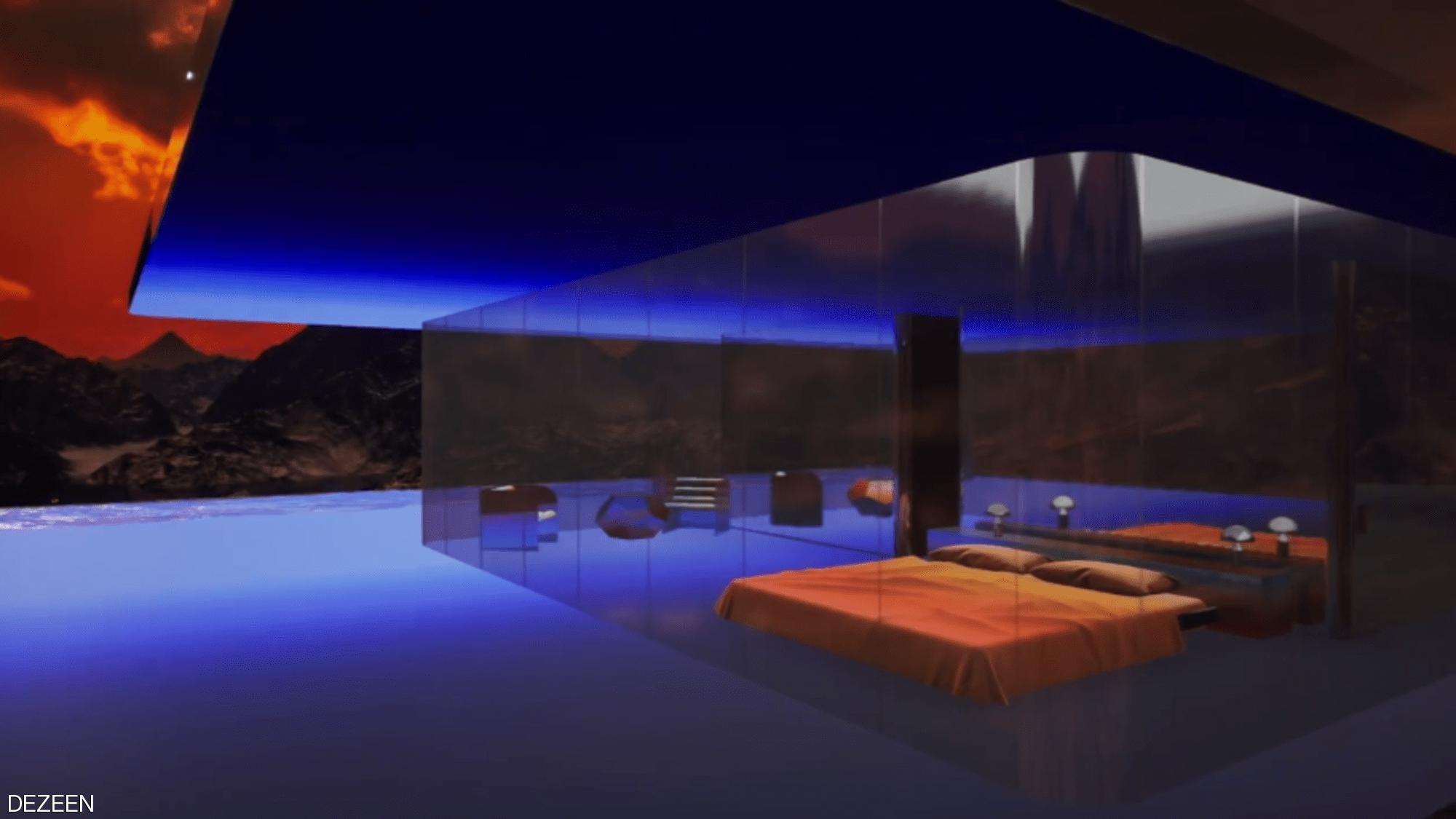 بيع منزل افتراضي على المريخ