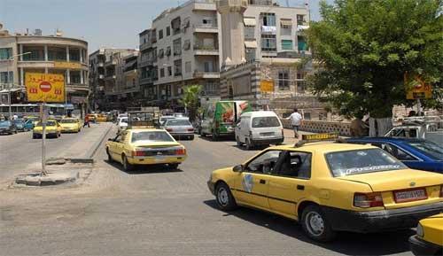 محافظة دمشق: تعديل أجور نقل الركاب بسيارات الأجرة التكسي