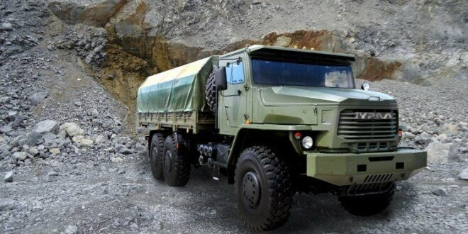عربة عسكرية روسية حديثة تدخل الخدمة في سوريا