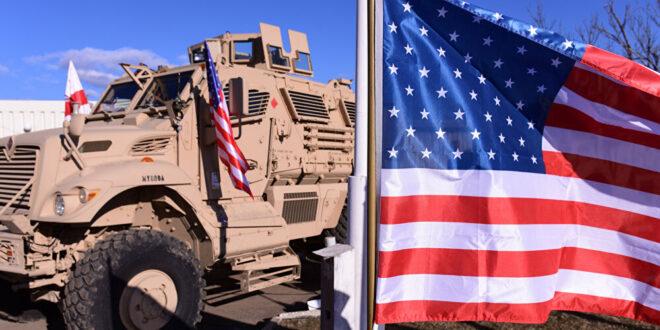 40 آلية محملة بمعدات عسكرية تابعة للجيش الأمريكي تتوجه إلى ريف الحسكة في سوريا