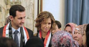السيدة أسماء الأسد تهنئ الأمهات السوريات بعيد الأم