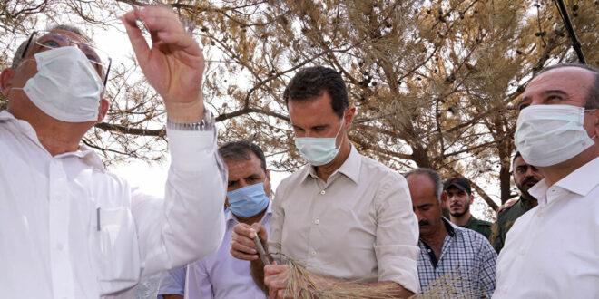الرئيس الأسد يوجه بإرسال 25 طناً من الأوكسجين إلى لبنان