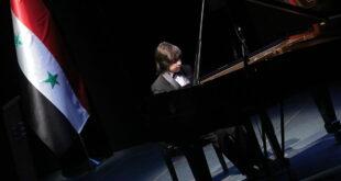 طفل سوري يحرز المركز الأول بمسابقة دولية للعزف في موسكو