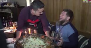 الشيف بوراك يخيف الرئيس الشيشاني... فيديو