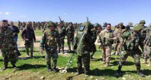 الجيش السوري يبدأ تمشيط بادية حماة