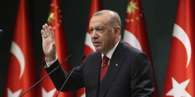 أردوغان ينتقد تصريحات بايدن عن بوتين