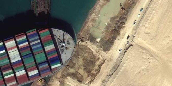 رئيس هيئة قناة السويس يكشف المسؤول عن جنوح السفينة
