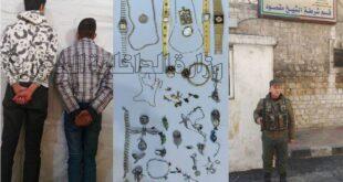 سرقا الذهب في دمشق ووقعا في حلب