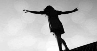 سقوط فتاة من فوق جسر جرمانا