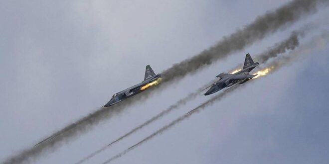 الطيران الحربي الروسي ينقض على مقار لتنظيم