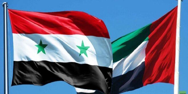 وزير الخارجية الاماراتي: لا بد من عودة سوريا الى محيطها وقانون قيصر هو التحدي الأكبر