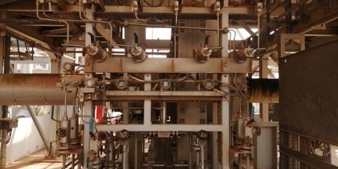إعادة إقلاع وحدة تبريد الغاز لإنتاج الغاز المنزلي في معمل إيبلا