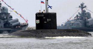سونار البحرية الروسية في طرطوس السورية يحدد هدفًا تحت الماء