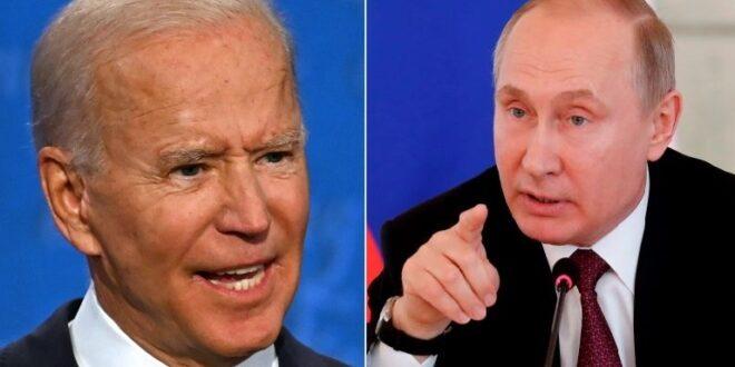 بايدن: بوتين سيدفع ثمن تدخله في الانتخابات الأمريكية