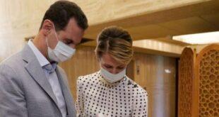 الرئاسة السورية تكشف حالة الرئيس الأسد وعقيلته بعد 9 أيام من إصابتهم بكورونا