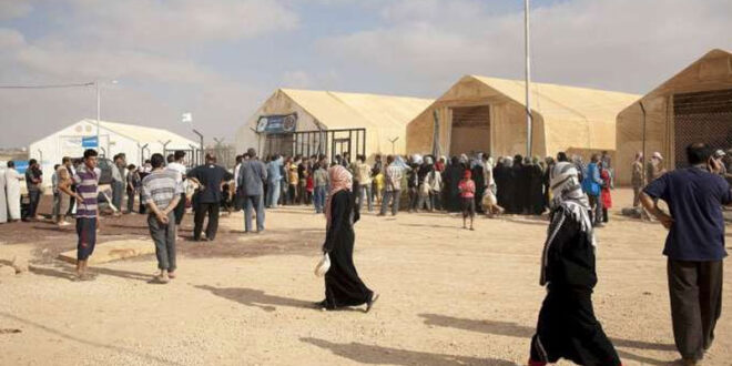 نصف السوريين المتواجدين في الأردن