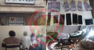 القبض على سارقي مزارع وفيلات بـ ريف دمشق