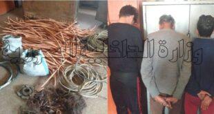 القبض على سارقي المحولاتالكهربائية في صحنايا بريف دمشق