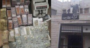 القبض على شخصين يقومان بتصريف العملات الأجنبية في ريف دمشق