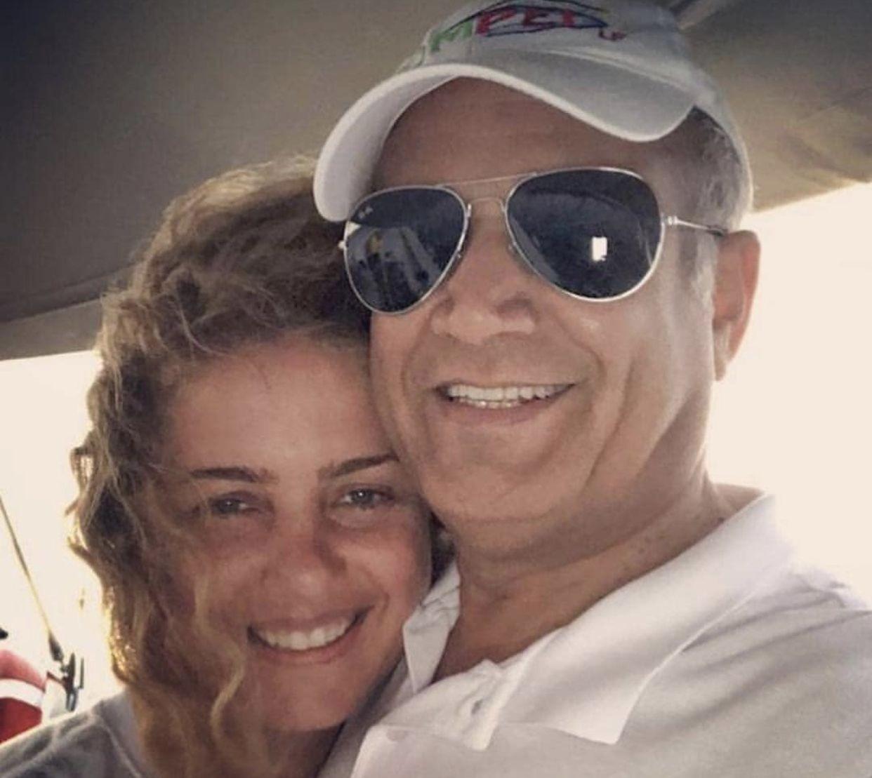 تعرفوا الى زوج ريما مكتبي الإعلامي السعودي