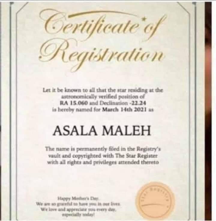 اليوتيوبر السوري أنس مروة يشتري نجمة في السماء لزوجته