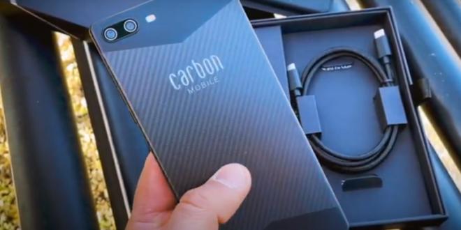 الكشف عن هاتف متين وخفيف الوزن مصنوع من ألياف الكربون!
