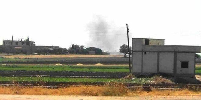 مسلحون يستهدفون بالقذائف الصاروخية شمال غرب حماة