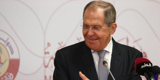 لافروف: عودة سوريا إلى الجامعة العربية