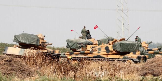 الجيش التركي يشن هجوما مدفعيا على مواقع قسد شمال سوريا
