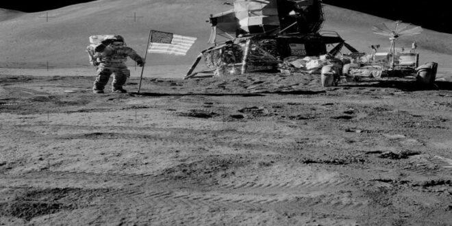 هل وصل الأمريكيون الى القمر