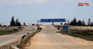 افتتاح معبر ترنبة سراقب في ريف إدلب