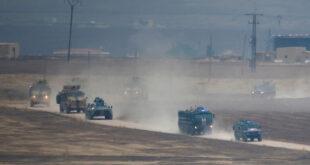 دورية روسية تركية مشتركة في ريف الحسكة بسوريا