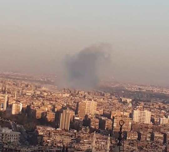 صوت انفجار يهز دمشق