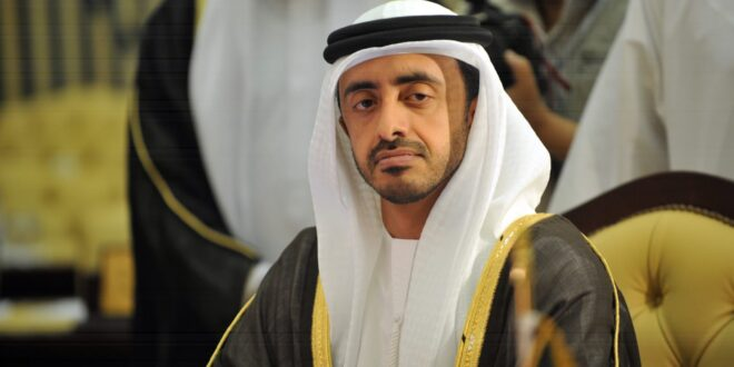 وزارة الخارجية الأمريكية ترد على الشيخ عبدلله بن زايد بعد انتقاده قانون قيصر