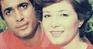 صورة نادرة جداً .. شاهدوا أحمد زكي وهالة فؤاد في يوم زفافهما