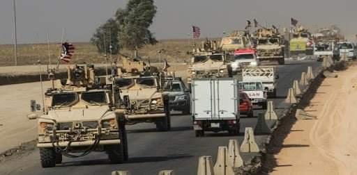 42 شاحنة محملة بالقمح السوري المسروق تعبر إلى العراق