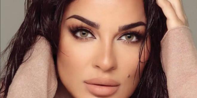 نادين نجيم تكشف عن جروح وجهها في يوم المرأة