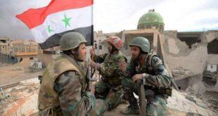الجيش السوري يقضي على مجموعة مسلحة ويدمر عتادها في ريف إدلب