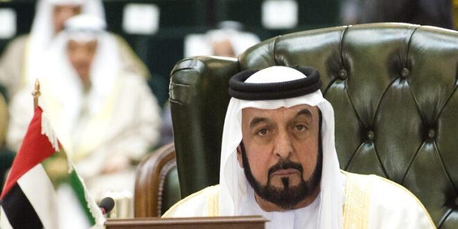 رئيس الإمارات والشيخ محمد بن زايد وحاكم دبي يبعثون رسائل إلى الرئيس الأسد