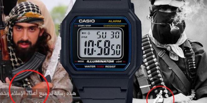 """كيف أصبحت ساعة """"كاسيو"""" الرقمية أيقونة لـ""""للجماعات المسلحة""""؟"""