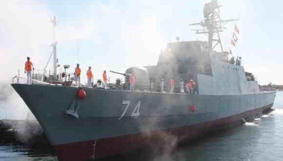 استهداف سفينة عسكرية إيرانية في البحر الأحمر