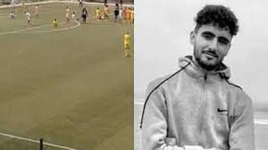 وفاة لاعب مغربي داخل الملعب.. شاهد!