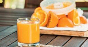 عصير البرتقال وسرطان الجلد